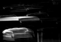 Steinway Grand Piano Abstract #2 (Black & White)