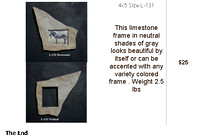Natural Stone Picture Frames Inventory